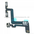 Volume Button Mute Silent Switch Connector Flex Cable for iPhone 6 Plus