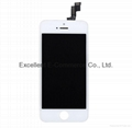 LCD Assembly For iPhone 5S White Aftermarket