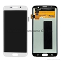 LCD Assembly for Samsung S7 Edge White Original