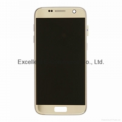 LCD Assembly with frame for Samsung S7