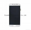 LCD Assembly for Samsung S6 Edge White Original