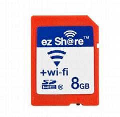ez-Share WIFI SHARE 8GB CLASS 10 SDHC FLASH MEMORY SD CARD 8 GB EYE FI