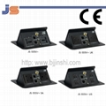 Professional interconnect cable box with