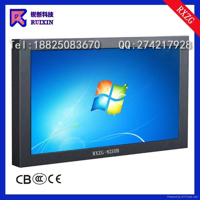 RXZG-8210B防暴触摸电脑电视一体机 1