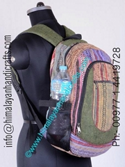 Bohemian Deluxe Hemp backpack