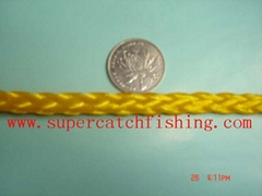 YELLOW/HOLLOW BRAID  POLY ROPE