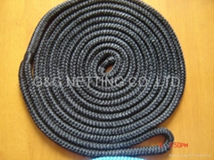 DOUBLE NYLON BRAID DOCK LINE
