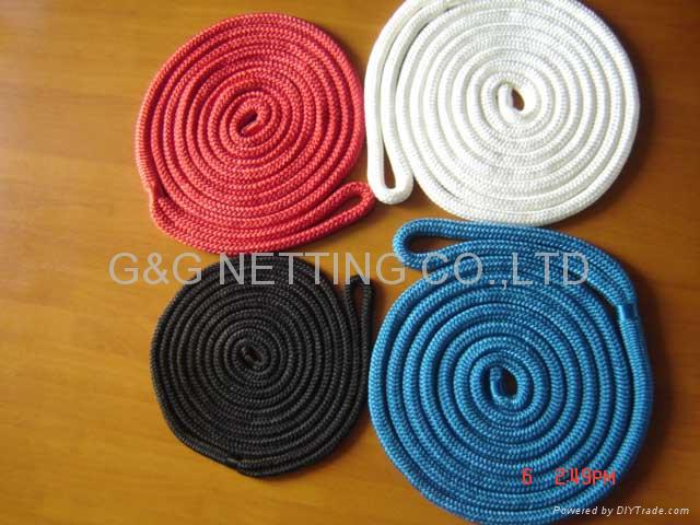 DOUBLE BRAID NYLON DOCK LINE 2