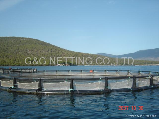 AQUACULTURE CAGE PEN NET AND NETTING