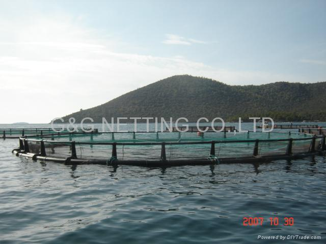 AQUACULTURE CAGE PEN NET AND NETTING 3