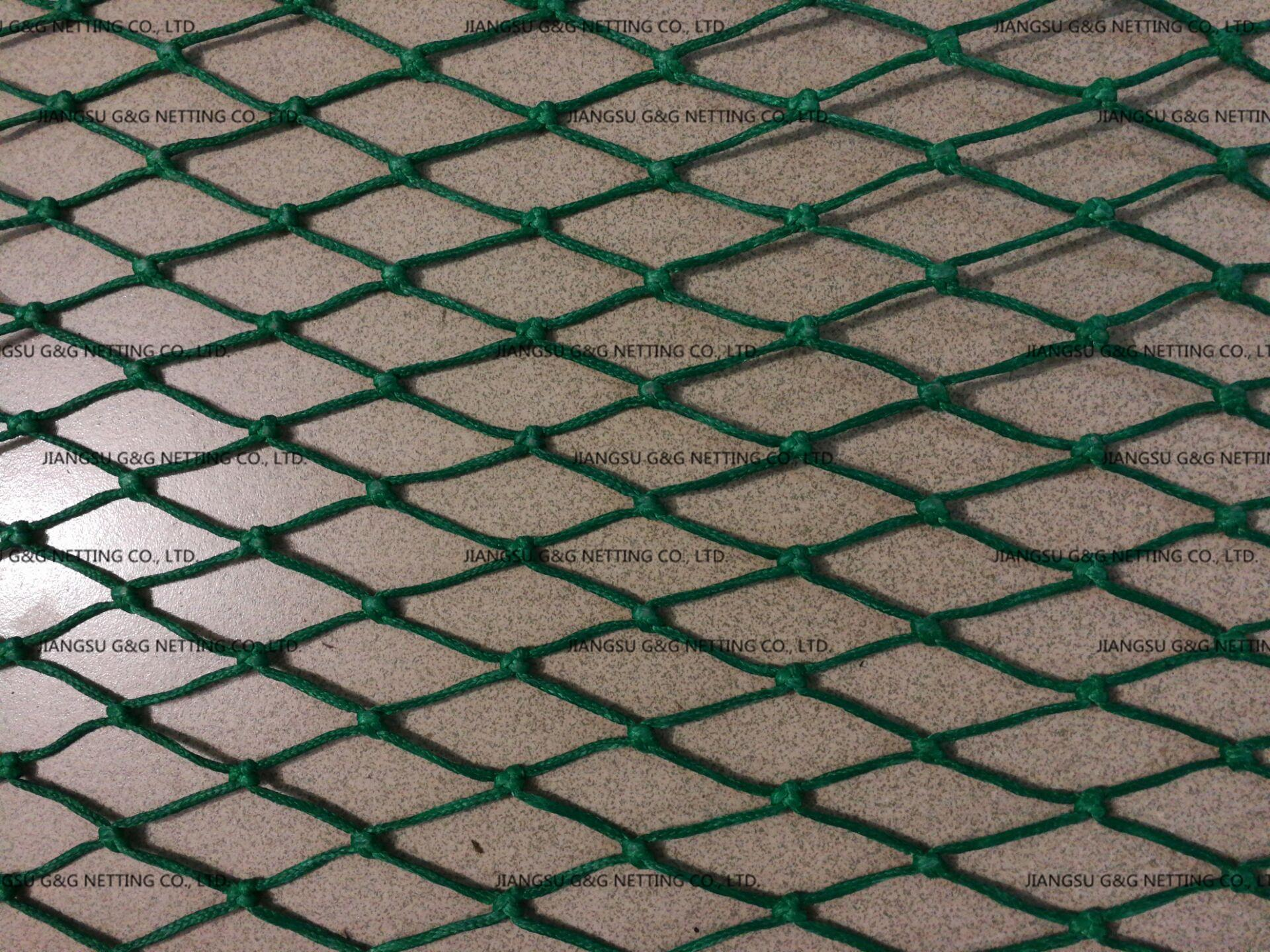 BRAIDED HMPE KNOTTED NETTING 4