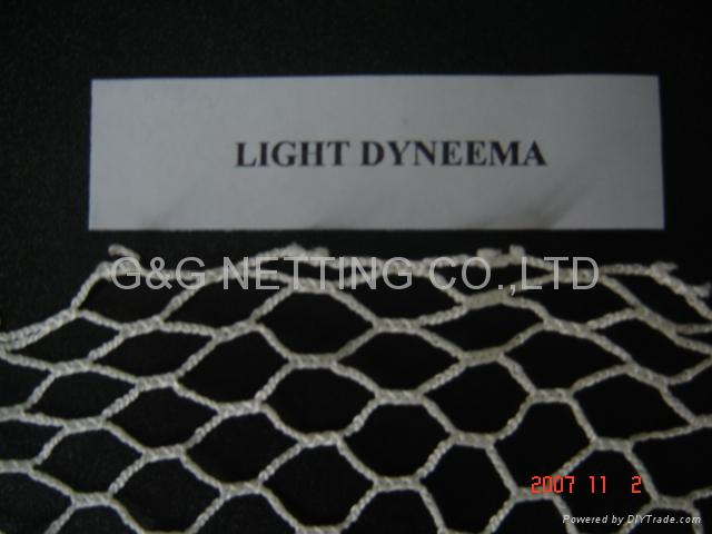 UHMWPE(DYNEEMA)KNTOLESS NET AND NETTING 3
