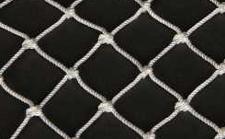 尼龙复丝有结网片和网