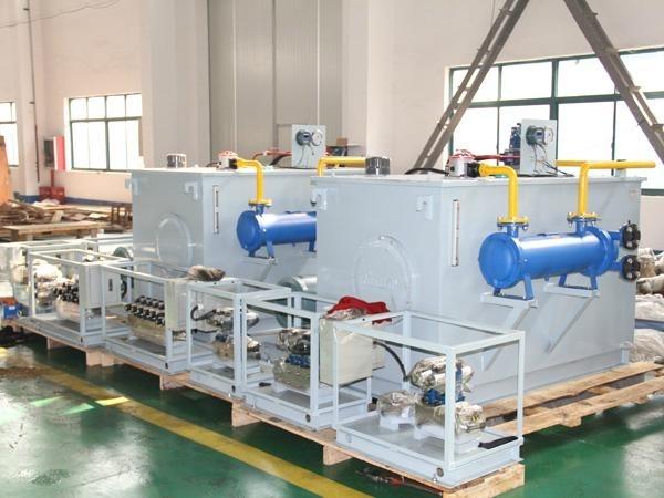 从使用环境恶劣的制砖机液压系统到高精度的服振动实验泵站,100吨伺服图片