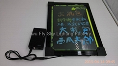 Hot selling LED wriitng board with remote control