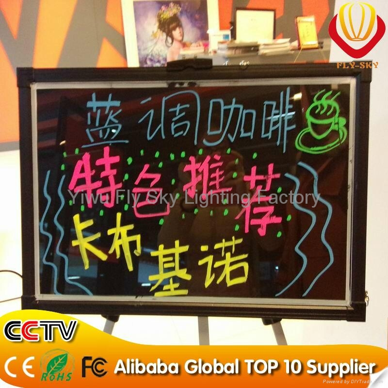 Hot selling LED wriitng board with remote control 5
