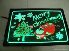 New item le writing board led illuminated writing board