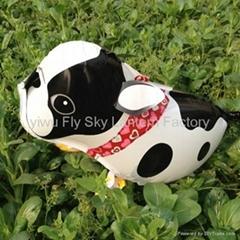Walking pet foil balloon animal shape mylar helium balloons for Children