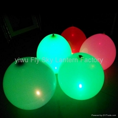 2014 Party Led light up inflatable balloons wholesale for wedding decoration