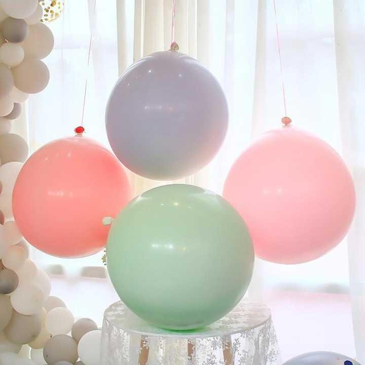36 inch giant round latex balloon big helium gas ballons 4