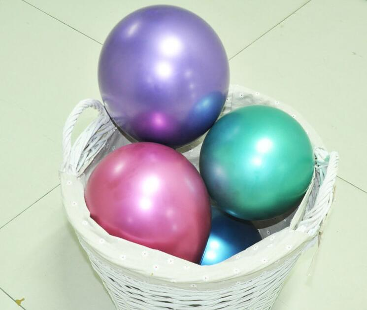 12 inches metallic latex balloons for party wedding decoration 1