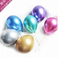 12 inches metallic latex balloons for party wedding decoration 2