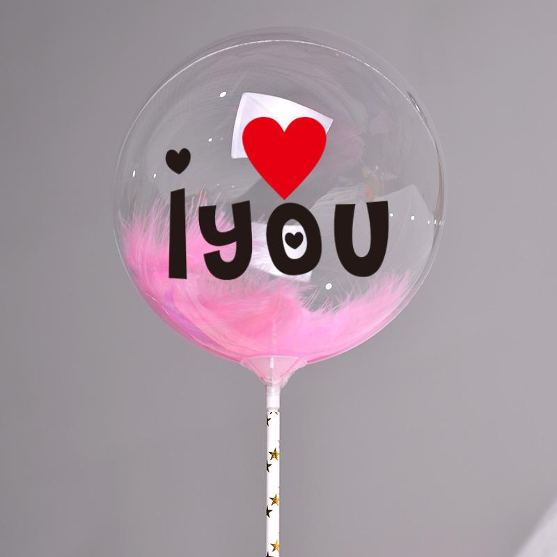 Transparent Bubble Balloons  Ball For Birthday Party  Kids Cake balloons 4