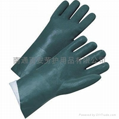 PVC磨沙防化學防腐蝕手套