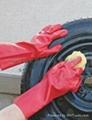 PVC磨沙防化学防腐蚀手套