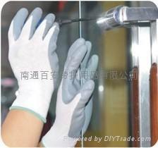 尼龍丁腈輕工業防油手套