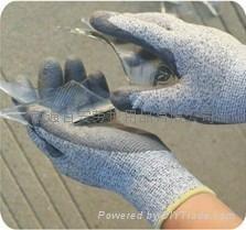 迪耐碼PU防切割手套