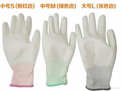 PU塗層手套