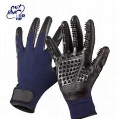 10針乳膠園林手套