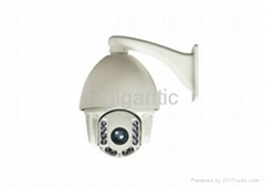 High-speed Outdoor IR Dome Camera and PTZ