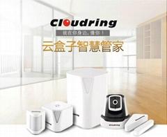 Fashion Smart Home product Gate-way + Door sensor+ Humidity Human +Body Sensor +