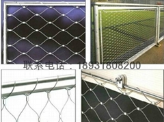 新工艺环保不锈钢绳护栏网