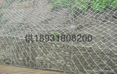 衡水SNS邊坡加固型鋼絲繩防護網
