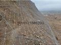 7x7主動型鋼絲繩邊坡防護鋼網 5