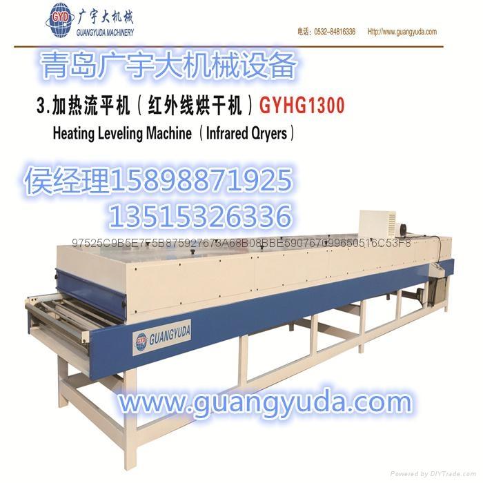 一體板設備青島加熱流平機銷售 2