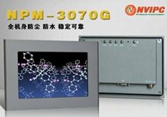 7寸嵌入式工业显示器 NPM-3070G