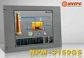 15寸機架式工業顯示器 NPM