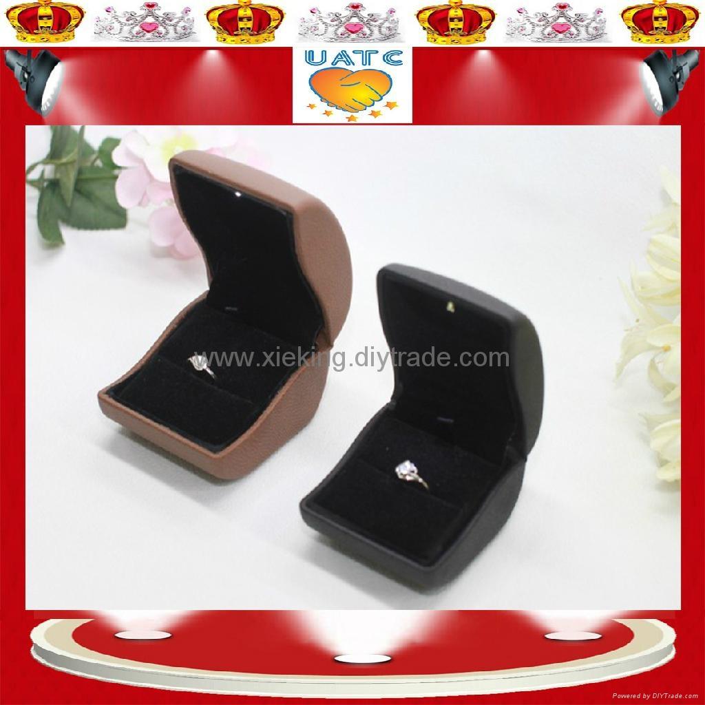 LED 灯 戒指盒 1