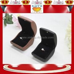 LED 燈 戒指盒
