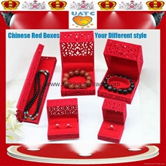 Chinese Red Style Jewellery box