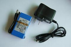 ABENIC 大容量聚合物可充電鋰電池 12V 1800mAh 移動電源後備電源DC-168