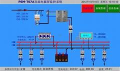 直流屏監控模塊PSM-T07E彩色觸摸屏監控系統