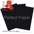Stiff China black cardboard paper/0.5mm