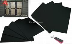 Black paper/touchy black paper/velvet black paper