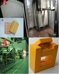 Stiff China 300gsm gray board/500gsm grey chipboard/1000gsm grey cardboard paper