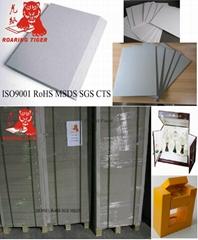Laminated 900gsm 1000gsm 1100gsm Gray paper board/grey paper board/paper board